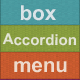 Box Accordion Menu - Responsive - CodeCanyon Item for Sale