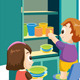 Kids Tidy Up - GraphicRiver Item for Sale