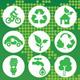 Eco Green Icon - GraphicRiver Item for Sale