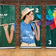 Studio Roll Up Mockup - 100x200 cm - GraphicRiver Item for Sale