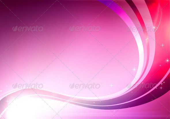 Curve Pink Graphics Designs Templates From Graphicriver