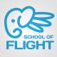 School Of Flight Logo - GraphicRiver Item for Sale