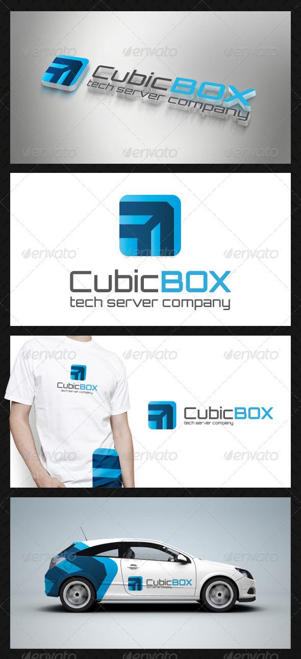 Cube Box Tech Logo Template