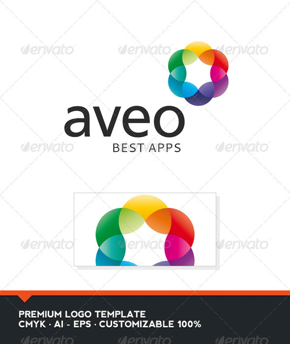Aveo - Abstract Colorful Logo Template