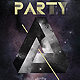 Electro Space Party Flyer Template - GraphicRiver Item for Sale