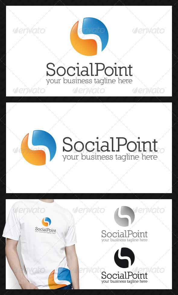 Social Point Logo Template