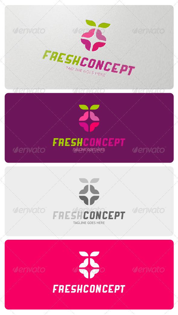 Fresh Concept Logo Template