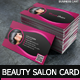 Beauty Salon - Business Card - GraphicRiver Item for Sale