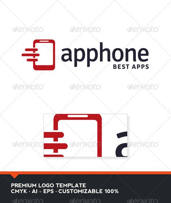 Apphone - Phone Logo Template
