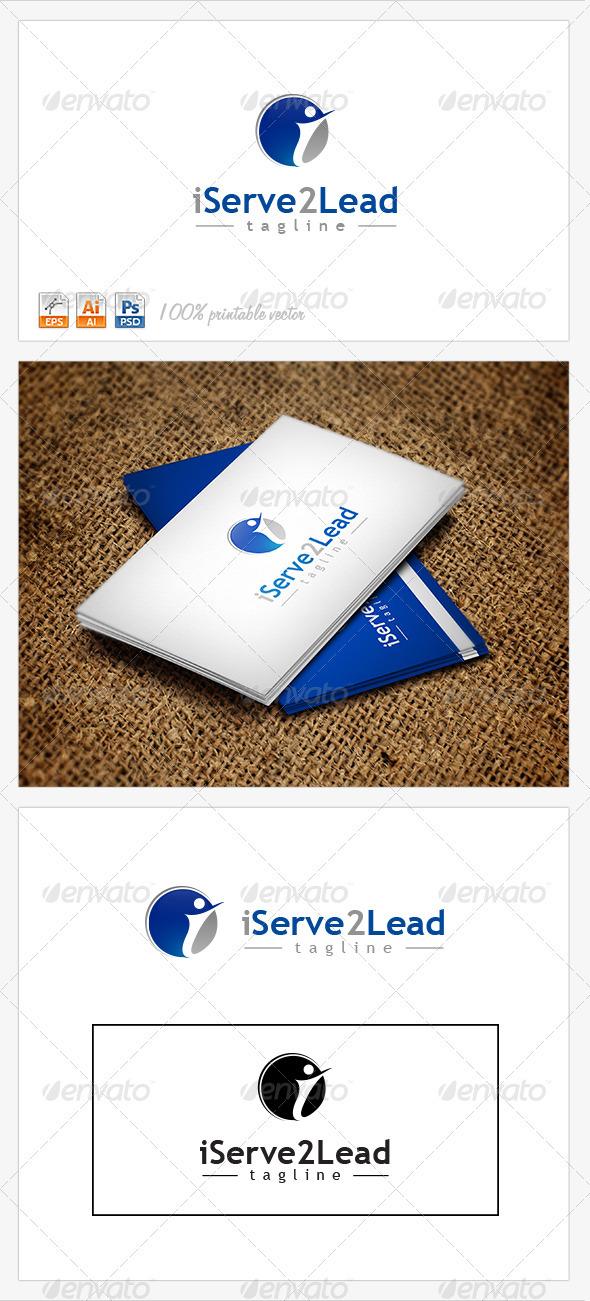 I Serve to Lead Logo