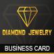 Diamond Jewelry - Business Card - GraphicRiver Item for Sale