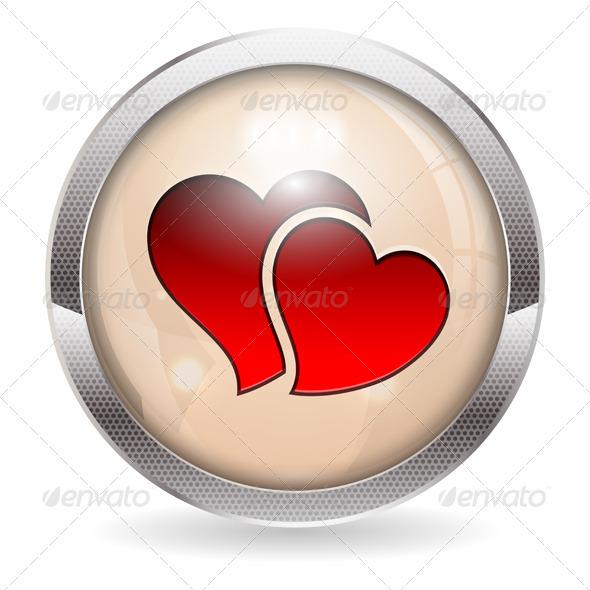 Valentine Button