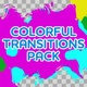 Colorful Ink Flow Transitions - VideoHive Item for Sale