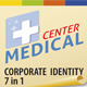 Medical Center Corporate Identity 7 in 1 Pack - GraphicRiver Item for Sale