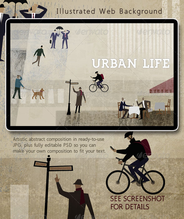 Urban Life: People in the City