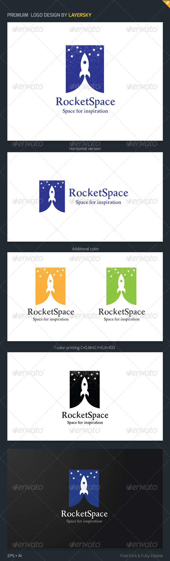 Rocket Space Logo
