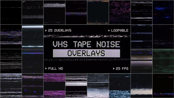 Vhs Overlay Video Effects & Stock Videos from VideoHive
