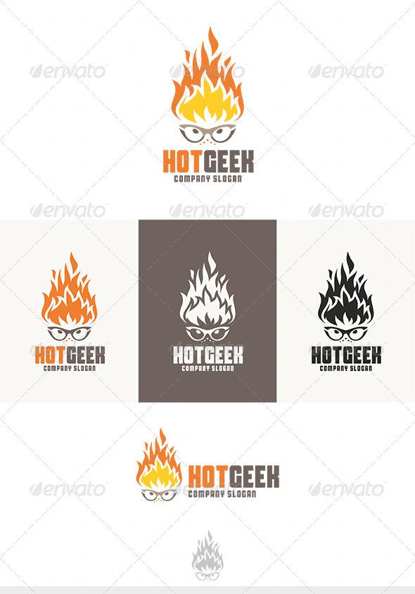Hot Geek Logo
