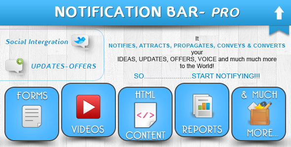 Notification Bar PluginPrice : $21