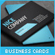 Simple Professional Business Card Design Template - GraphicRiver Item for Sale