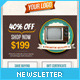 Retro Newsletters for E-commerce Businesses Email Template - GraphicRiver Item for Sale