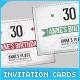 Retro Birthday Invitation Cards - GraphicRiver Item for Sale