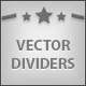Vector Dividers - GraphicRiver Item for Sale