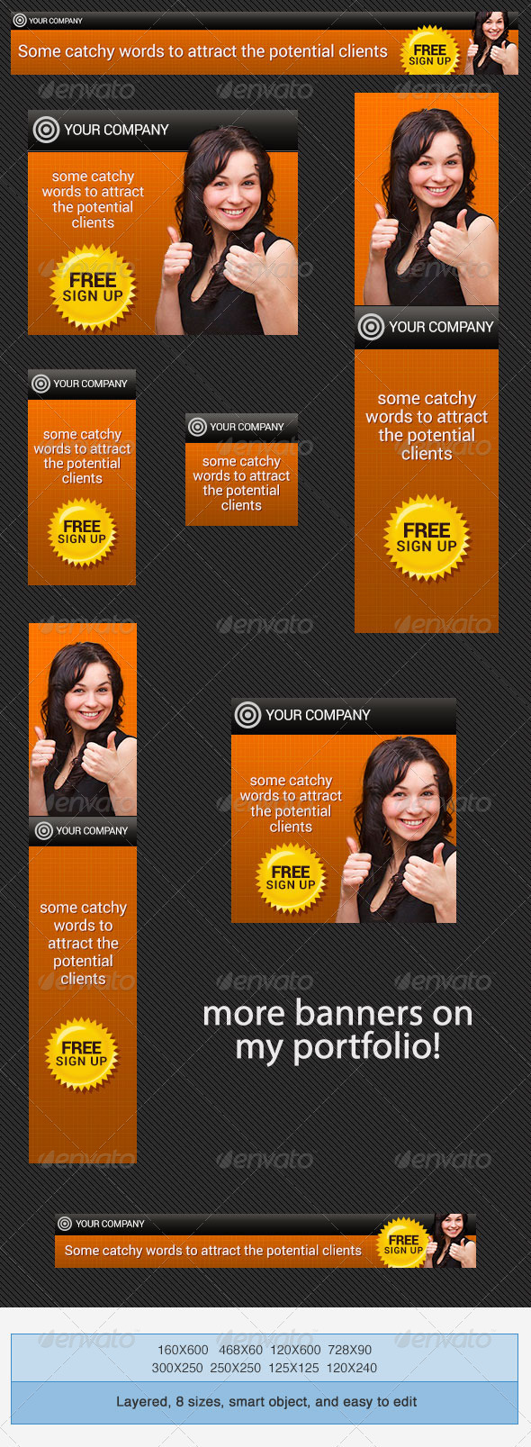 Psd Banner Ads Templates Graphics Designs Templates