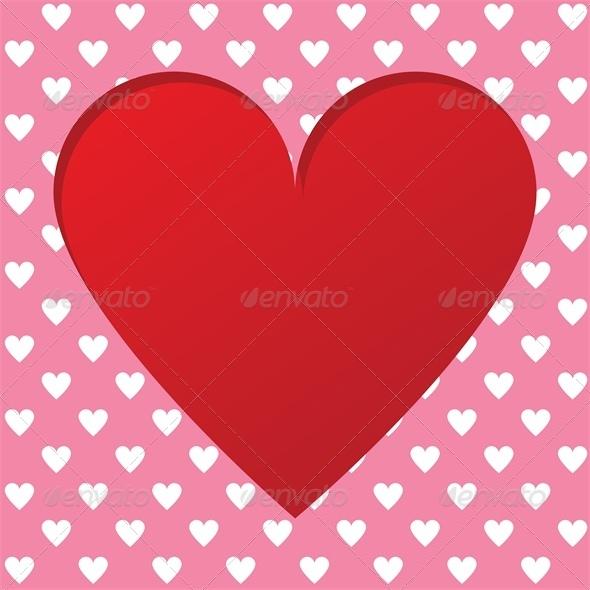 Valentines scrapbooking card