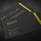 Carbon Fiber Business Card - GraphicRiver Item for Sale