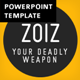 ZOIZ Animated PowerPoint Template