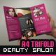 Beauty Salon - Tri-Fold Brochure - GraphicRiver Item for Sale