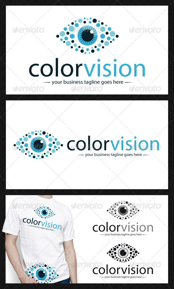 Color Vision Logo Template