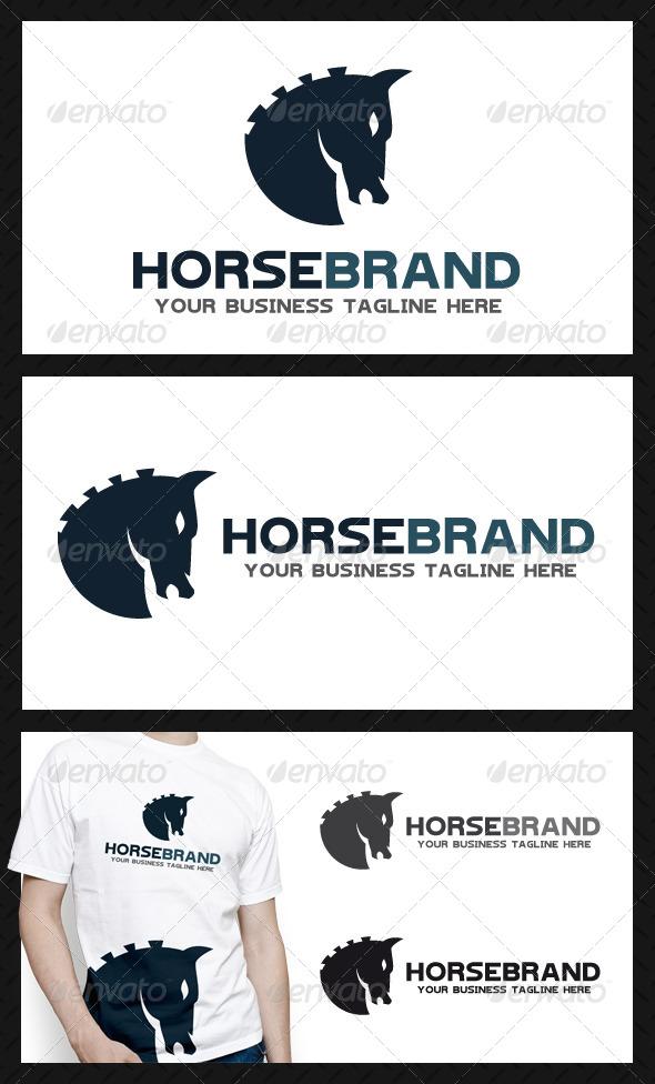 Horse Brand Logo Template
