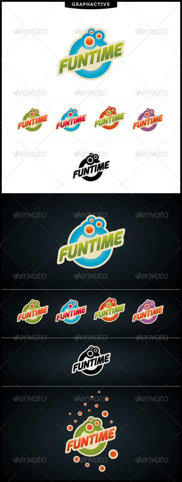 Funtime Logo Template