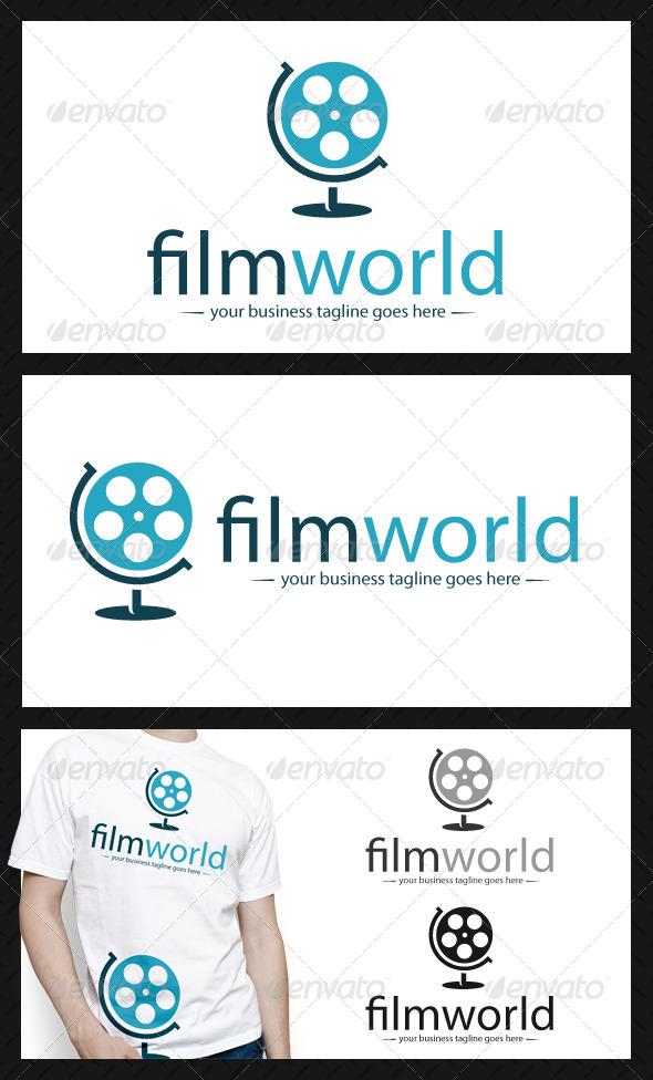 World Movie Logo Template