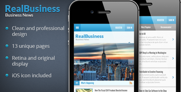Business News PSD