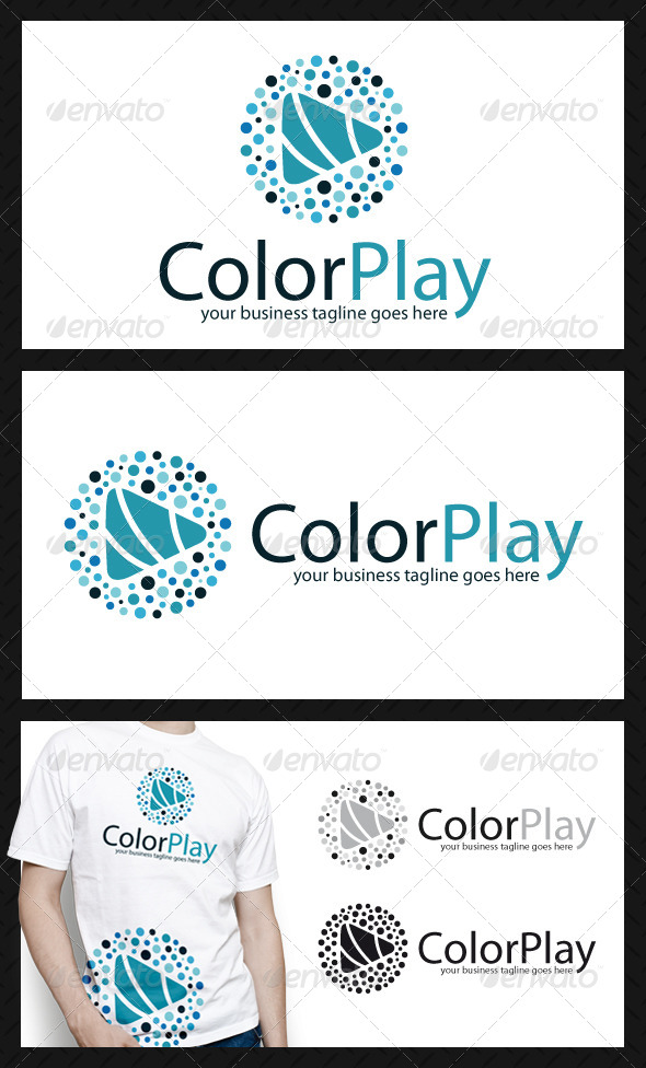 Creative Play Logo Template