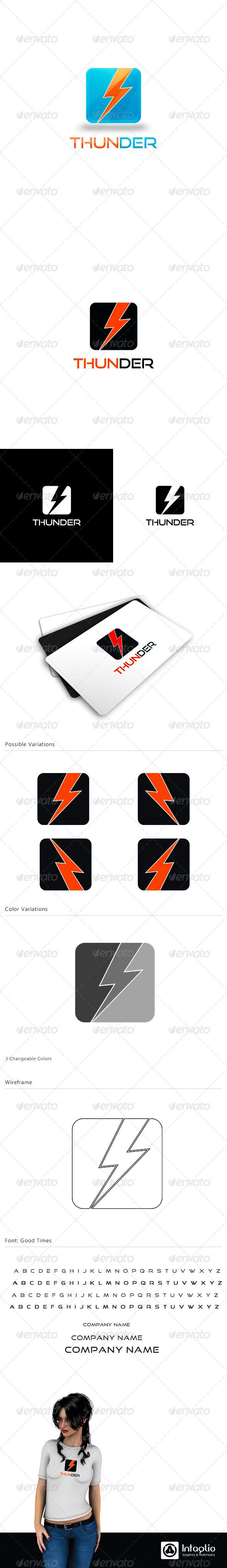 Creative Logo - Thunder