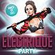 Electrique Party Flyer - GraphicRiver Item for Sale