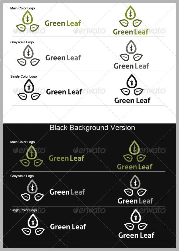 Grean Leaf Logo