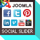 Social Slider for Joomla - CodeCanyon Item for Sale