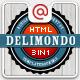 Delimondo Fully Responsive HTML | 3 Styles - ThemeForest Item for Sale