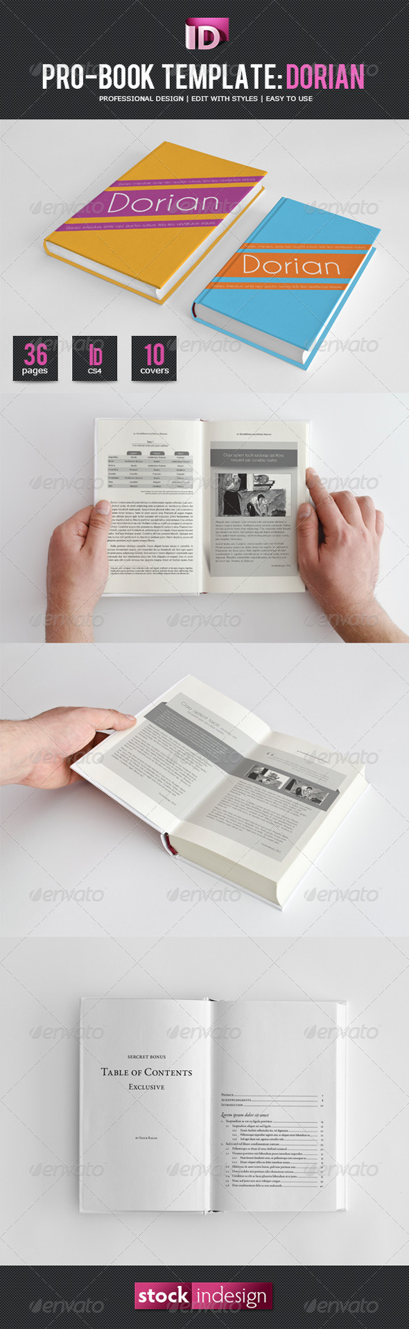 Book Template Graphics, Designs & Templates from GraphicRiver