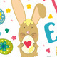 Easter Card With Graphical Elements - GraphicRiver Item for Sale