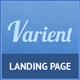 Varient Responsive Multi Purpose Landing Page - ThemeForest Item for Sale