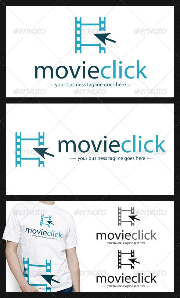 Movie Click Logo Template