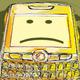 "Sad Emoticon ""Crackberry"" - GraphicRiver Item for Sale"