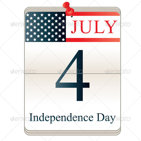 Calendar for 4th July