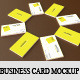 Business Card Mockup - Leather Style - GraphicRiver Item for Sale